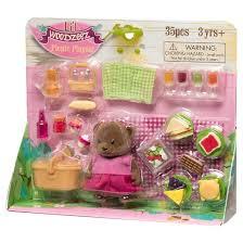 themed l li l woodzeez themed playset picnic target