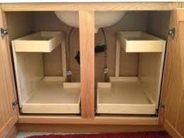 kitchen cabinet waste bins under sink trash can garbage disposal in insinkerator not working