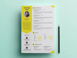 Clean Resume Template Free Clean Resume Template Psd Free Download Freebiesjedi