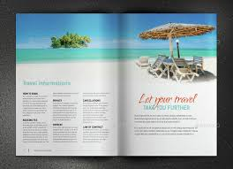 travel and tourism brochure templates free travel brochure by sabin vp graphicriver