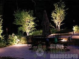 Lighting In Landscape Landscape Outdoor Lighthing Portland Or Turtle Hardscapes