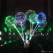 plans led light up balloons bobo 18inch transparent led light balloon helium