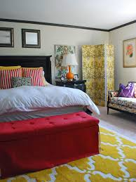 Red Bed Cushions End Of Bed Benches Extra Storage And Beauty Homesfeed