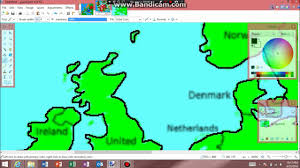 Map Of Europe Test by Lets Draw A Flag Map Of Europe Part 1 Blank Map Outline Youtube