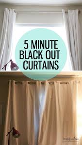 Make Curtains Out Of Sheets Best 25 Diy Blackout Curtains Ideas On Pinterest Easy Curtains