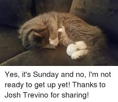 Its Sunday Meme - yes it s sunday and no i m not ready to get up yet thanks to josh