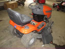 husqvarna yth20k46 lawn tractor item g9965 sold october