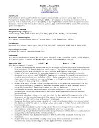 Developer Resume Sample by Marvellous Inspiration Pl Sql Developer Resume 14 Server Database
