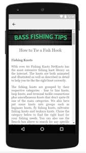bass fishing apk bass fishing tips by the almighty dollar apk