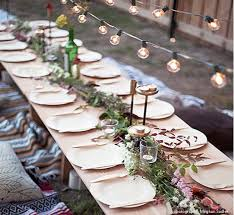 bamboo plates wedding garden suggestions and entertaining tips wedding bridal