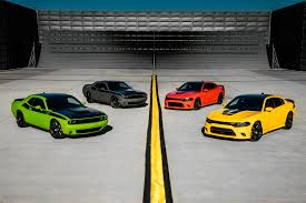 Dodge Challenger Yellow - dodge adds bit of hellcat to 2017 dodge charger challenger