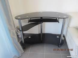 bureau en verre noir achetez bureau en verre noir occasion annonce vente à marseille 13