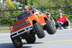 monster jam trucks for sale 1 injured as shriners on tiny cars boats planes 18 wheelers