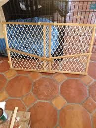 Large Pressure Mounted Baby Gate Weekend Project 2 Revealed Diy Wooden Baby Gate