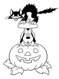 disney halloween coloring sheet kids picture 33 550x881