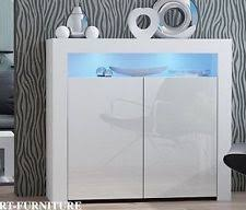 White Gloss Sideboard Cheap White Gloss Sideboards Cupboards U0026 Shelving Units Ebay