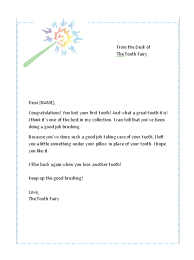 first lost tooth letter from the tooth fairy free tooth fairy