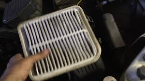 2004 mitsubishi endeavor air filter replacement youtube