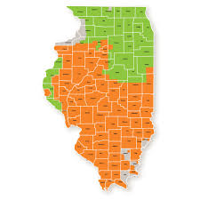Chicago Illinois Map by Illinois Ambit Energy