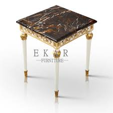 Marble Top Sofa Table by Small Vintage High Quanlity Classic End Table Marble Top Corner