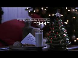 Pre Decorated Tabletop Lit Christmas Trees by Best Choice Products U0027 Pre Lit Ceramic Tabletop Christmas Tree