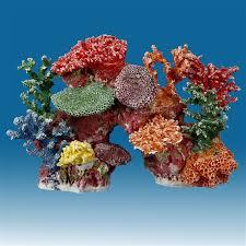 R048 Medium Coral Reef Aquarium Decoration for Marine Fish Tanks