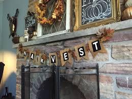 fall fireplace mantel a purdy little house