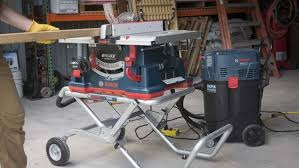 table saw vacuum dust collector best portable jobsite table saw shootout pro tool reviews