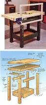 Easy Wood Workbench Plans by 112 Best Workbenches Images On Pinterest Woodwork Woodworking
