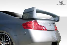03 07 fits infiniti g coupe vader duraflex body kit wing spoiler