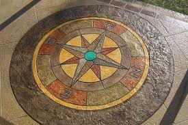 How Much Is A Stamped Concrete Patio by How To Stamp Concrete Decorative Concrete Patio Houselogic