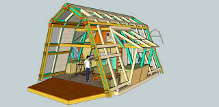modified a frame house plans you and your wacky sketch up