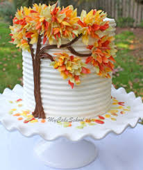 fall wedding cakes 10 beautiful fall wedding cakes craft paper scissors