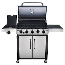 amazon com char broil performance 550 5 burner cabinet gas grill