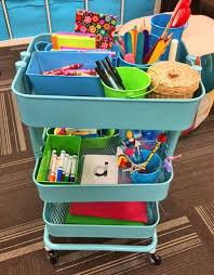 Rolling Carts Ikea Best 25 Teacher Cart Ideas On Pinterest Cheap Classroom