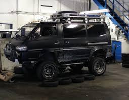 1991 mitsubishi delica modifications on a delica l300 taken to the extreme