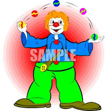 clowns juggling balls clown juggling balls royalty free clip image
