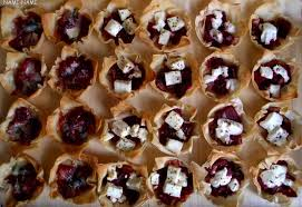 goats cheese canape recipes nami nami a food spot the difference filo tartlets with