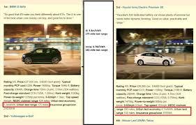nissan leaf insurance cost test drive comparison chevrolet bolt versus bmw i3