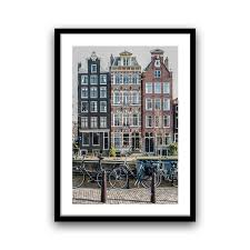 bedroom wall decor amsterdam photography canal houses 5x7 8x12