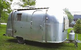 Vintage Trailer Awning Percy Our 1966 Airstream Caravel
