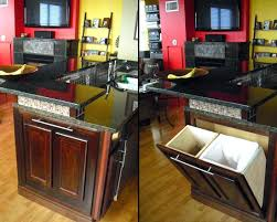 kitchen island with garbage bin kitchen rolling island bloomingcactusme kitchen island with trash