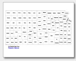 map of counties in kansas printable kansas maps state outline county cities