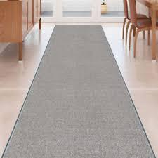 Grey Runner Rug Custom Size Grey Stair Hallway Runner Rug Rubber Back Non Skid 22