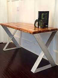 Wood Desk Ideas Best 25 Reclaimed Wood Desk Ideas On Pinterest Rustic Regarding