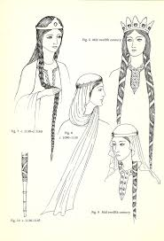 anglo saxon hairstyles 18 best costume history and style barbaric carolingian and