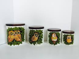 16 owl canisters for the kitchen free the diva freebie