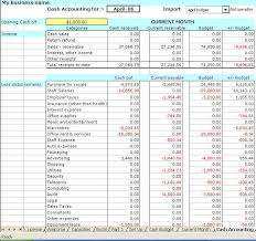 Accounting Spreadsheets For Small Business by Accounting Spreadsheet Templates For Small Business
