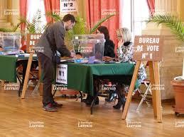 bureau de vote 12 fil web vandières estimation à 58 pour le non