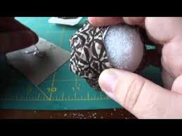 how to cook how to folded fabric pinecone ornaments